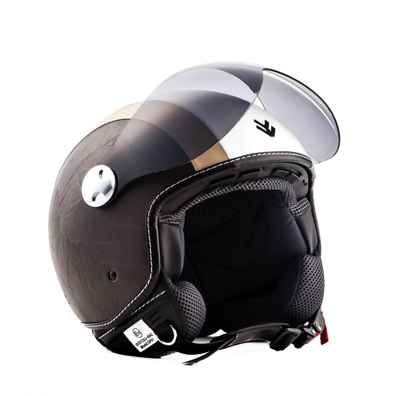 Improbable. Vintage green vespa helmet consider