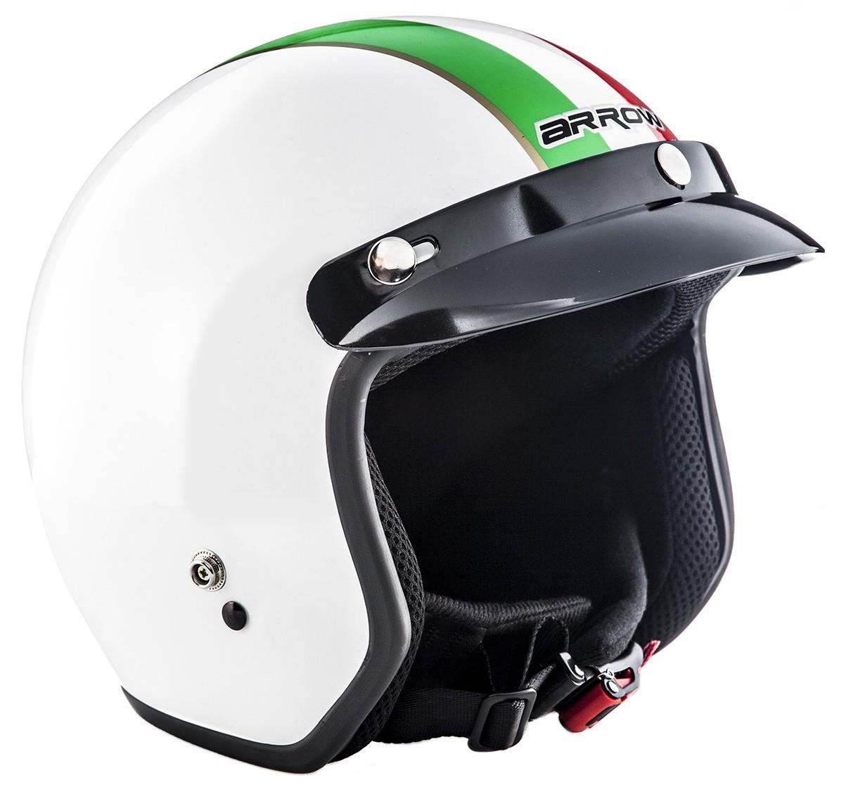 arrow av 47 italy jet helm vespa mofa roller helm motorrad. Black Bedroom Furniture Sets. Home Design Ideas