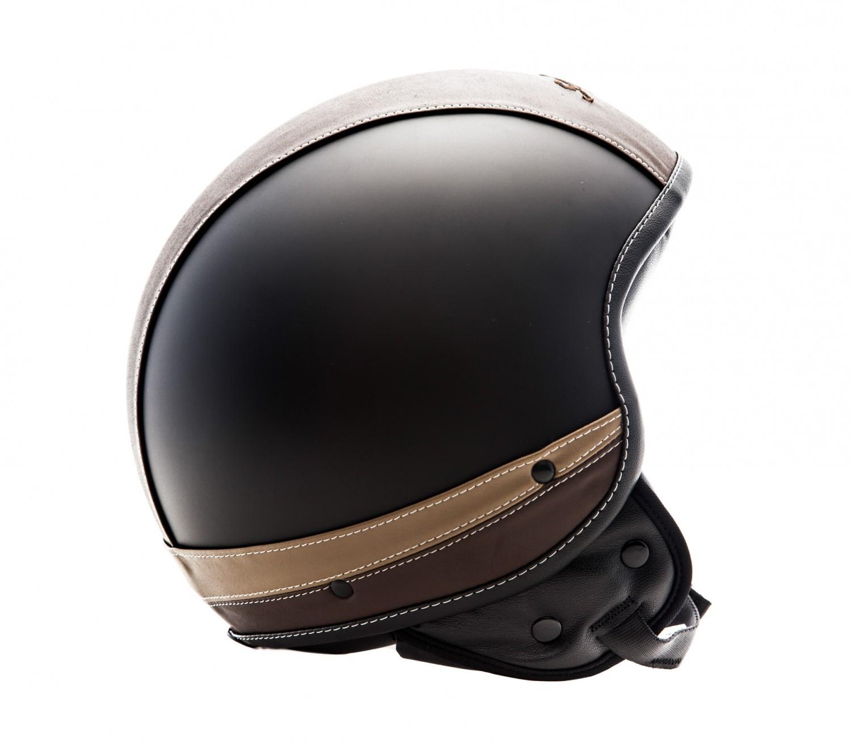 soxon sp 301 urban black casque jet vespa moto scooter cuir ece xs s m l xl ebay. Black Bedroom Furniture Sets. Home Design Ideas